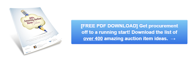 [FREE PDF DOWNLOAD] Get procurement off to a running start with over 400 ideas for unique auction items that attract bids.  →