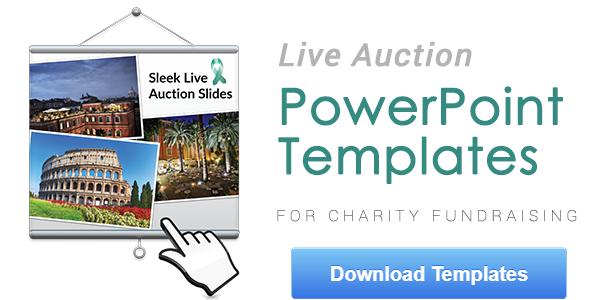 Download free PowerPoint templates for your live auction