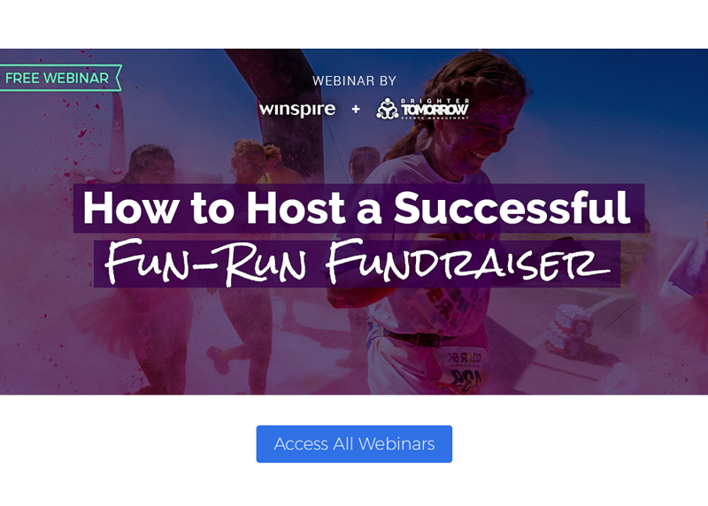 How to Host a Successful Fun-Run Fundraiser WEBINAR