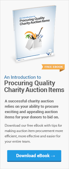 eBook: Introduction to Procuring Quality Charity Auction Items