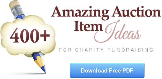 Download our free list of over 300 amazing auction item ideas