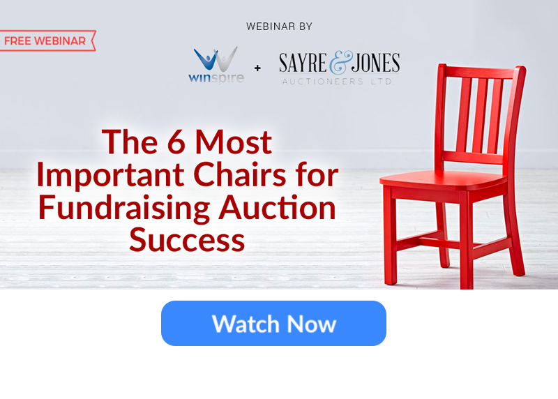 6 Most Important Event Chairs WEBINAR