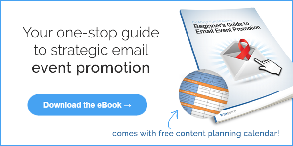 Free download: Email event promotion eBook + content calendar