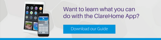 Download the ClareHome App Guide