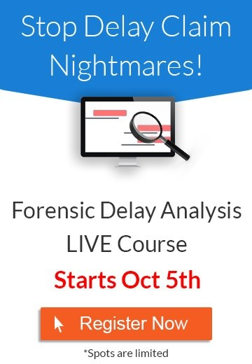forensic delay analysis live course