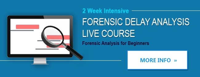forensic delay analysis course