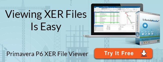 viewing XER Files is Easy - primavera p6 xer file viewer