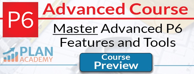P6 Advanced Course - Master Advanced P6 Features and Tools - Course Preview