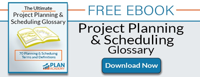 FREE EBOOK - THE ULTIMATE PROJECT PLANNING AND SCHEDULING GLOSSARY
