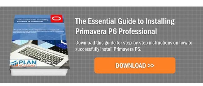 Guide to Installing Primavera P6 Professional