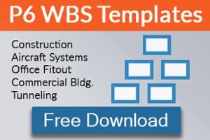 free wbs templates for primavera p6