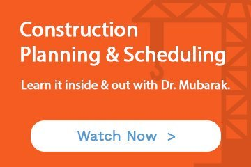 learn construction planning & scheduling