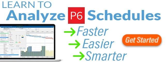 schedulereader course - analyze p6 schedules