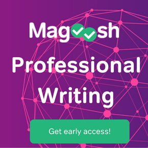 Magoosh professional writing: get early access