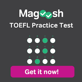 Magoosh TOEFL practice test - get it now