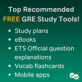 Best Recommended GRE Study Resources
