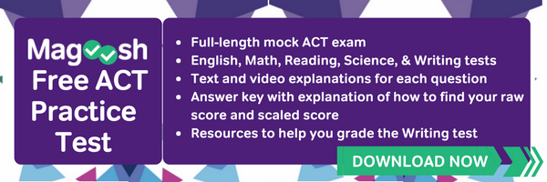 Download free ACT practice test