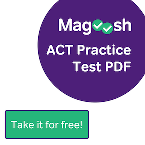Magoosh ACT Practice Test PDF - Take it for FREE