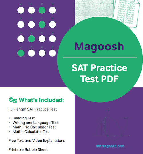 SAT Practice Test PDF: Download Here
