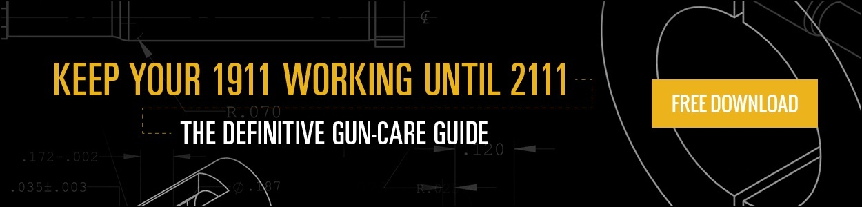 Get your 1911 Gun-Care Guide