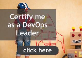 Certify me as a DevOps Leader