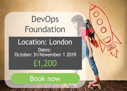 DevOps Foundation 31 October/1 November 2019 London