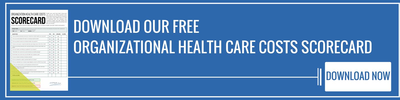 Organizational Health Care Costs