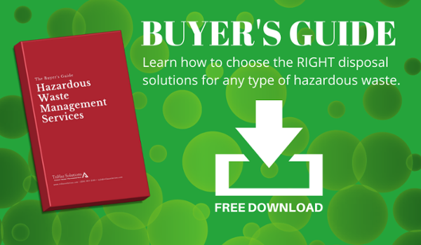 Free download - a buyer's guide for hazardous waste management solutions