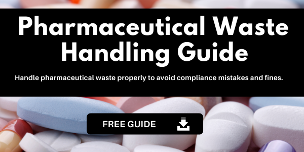 Click to download Pharmaceutical Waste Handling Guide