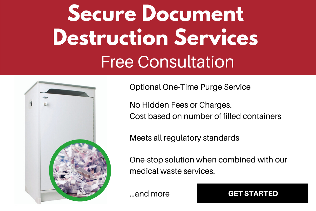 Choose the secure document shredding service that's right for your business