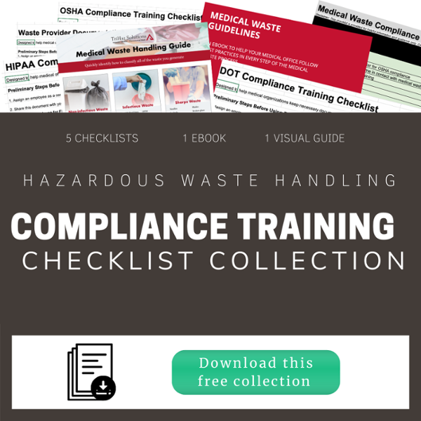 Hazardous Waste Handling Compliance Training Checklist Collection