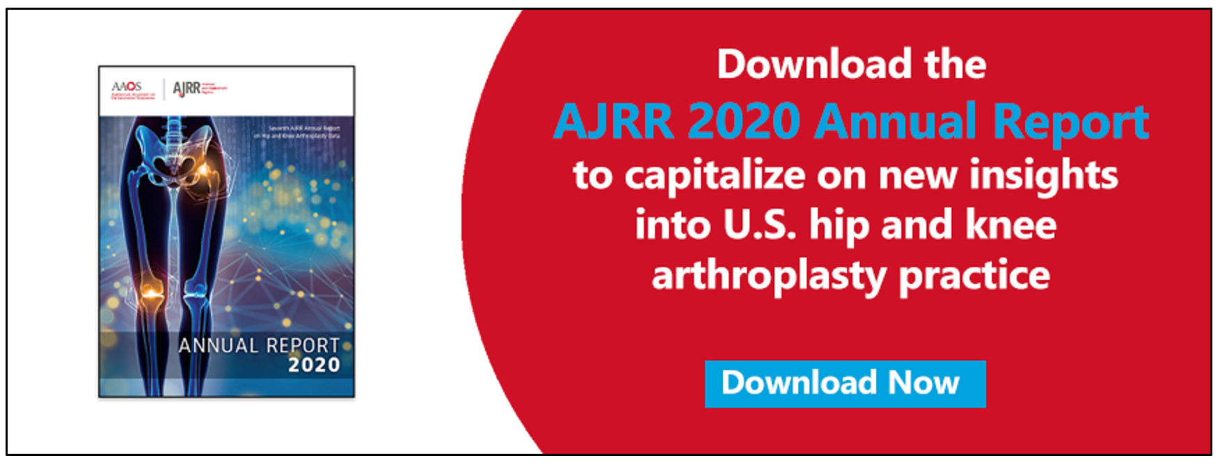 Download the AJRR 2020 Annual Report Now
