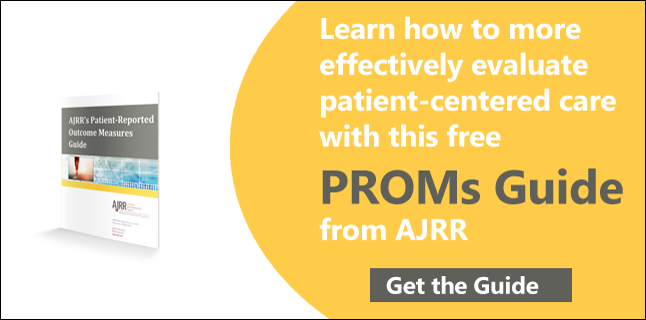 Get the AJRR PROMs Guide