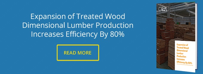 Expansion of Treated Wood
