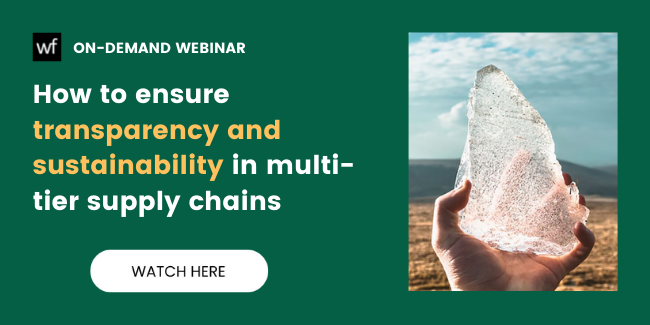 sustainability and sustainability in multi-tier supply chains
