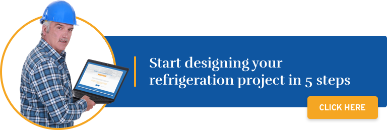 Design your refrigeration project in 5 steps