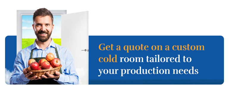 Get a quote on a custom cool room