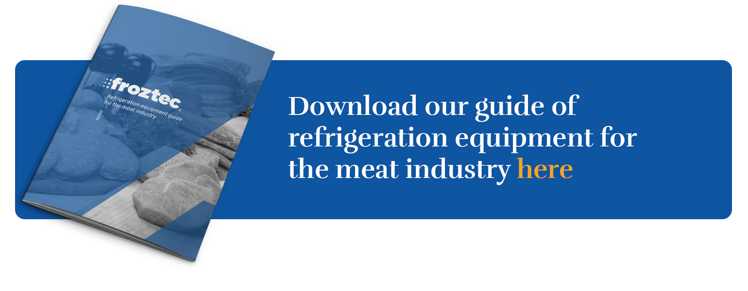 Guide of refrigeration equipment for the meat industry