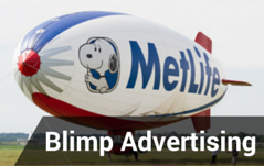 blimp advertising