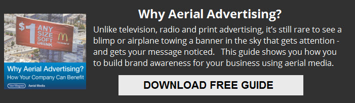 why aerial advertising