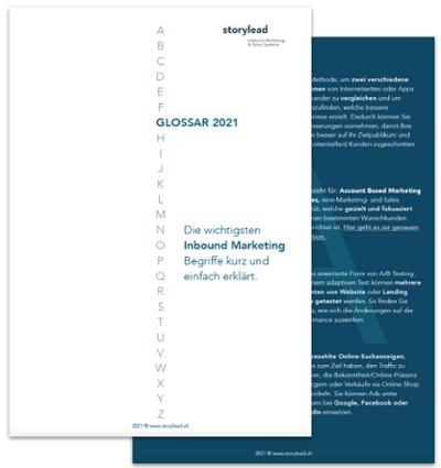 Glossar 2021: Die wichtigsten Inbound Marketing Begriffe @Storylead