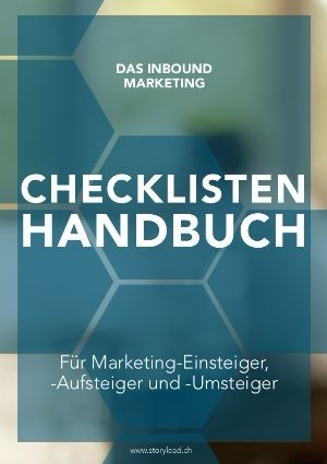 Inbound Marketing Checklisten Handbuch