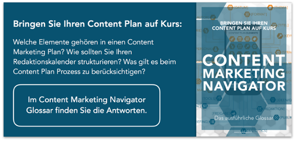 Glossar Content Marketing Navigator