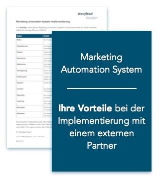 Vorteile bei der Marketing Automation System Implementierung mit einem Partner
