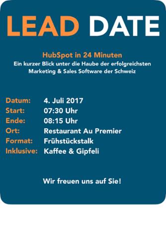 Lead Date Hubspot in 24 Minuten