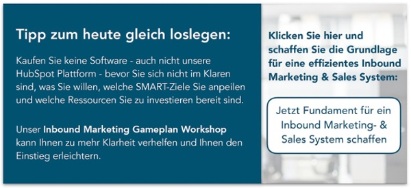 Workshop Inbound Marketing Gameplan