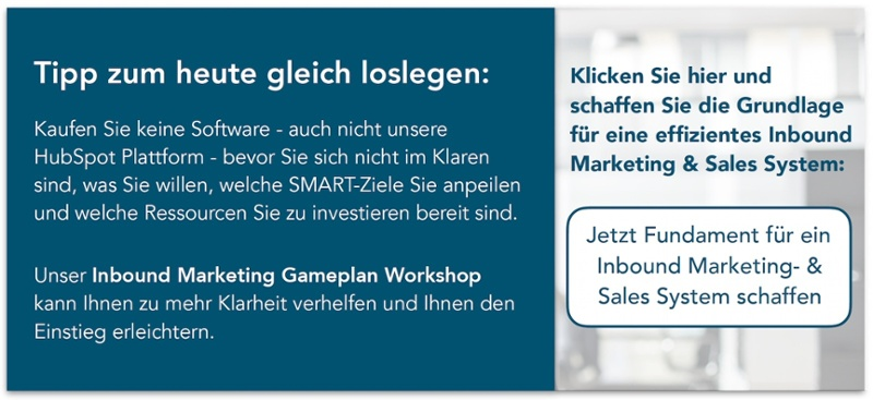Workshop Inbound Marketing Gameplan
