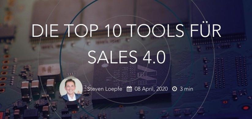 Die Top 10 Tools für Sales 4.0