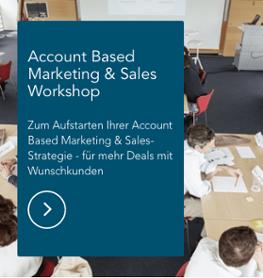 Account Based Marketing & Sales Workshop Storylead