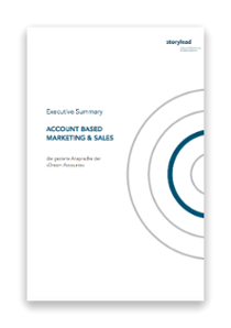 Executive Summary Account Based Marketing und Sales